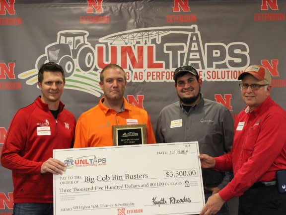 Big Cob Hybrids Sweeps Awards at 2019 UNL-TAPS Interactive Farm Management Competition