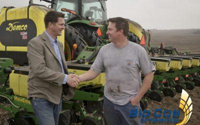 ben shaking hands